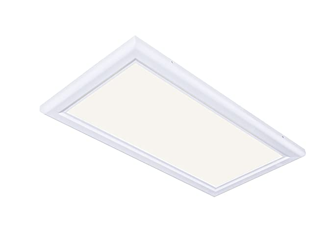 1 X2 Led Flat Panel Light Fixture Warm 2700k 30 Watt