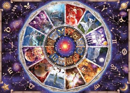 Glow in the Dark The Zodiac Jigsaw Puzzle 1000 Pcs