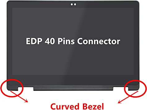 LED LCD Touch Screen Digitizer Display Assembly for Dell Inspiron 13 5378 1080P