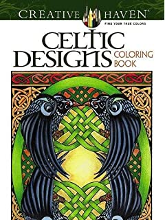 Creative Haven Celtic Designs Coloring Book Adult