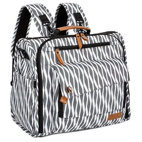 d847f2c3c672 ALLCAMP Zebra Diaper Bag Backpack