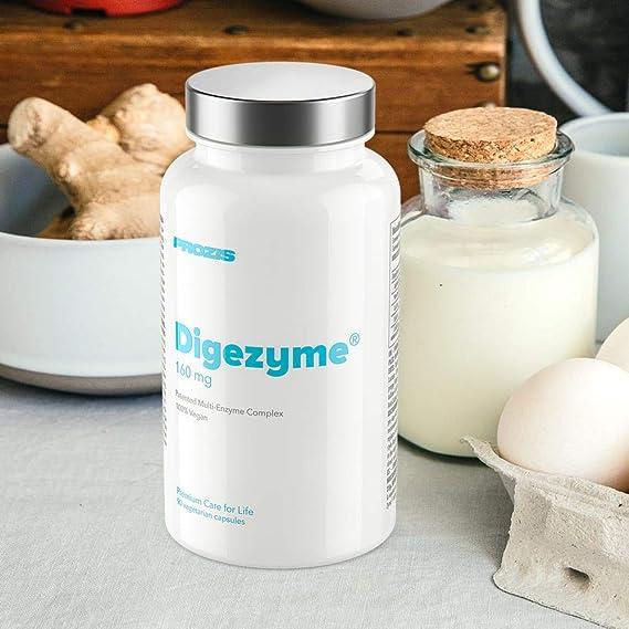 Prozis DigeZyme 160 mg 90 veg caps: Amazon.es: Salud y cuidado personal