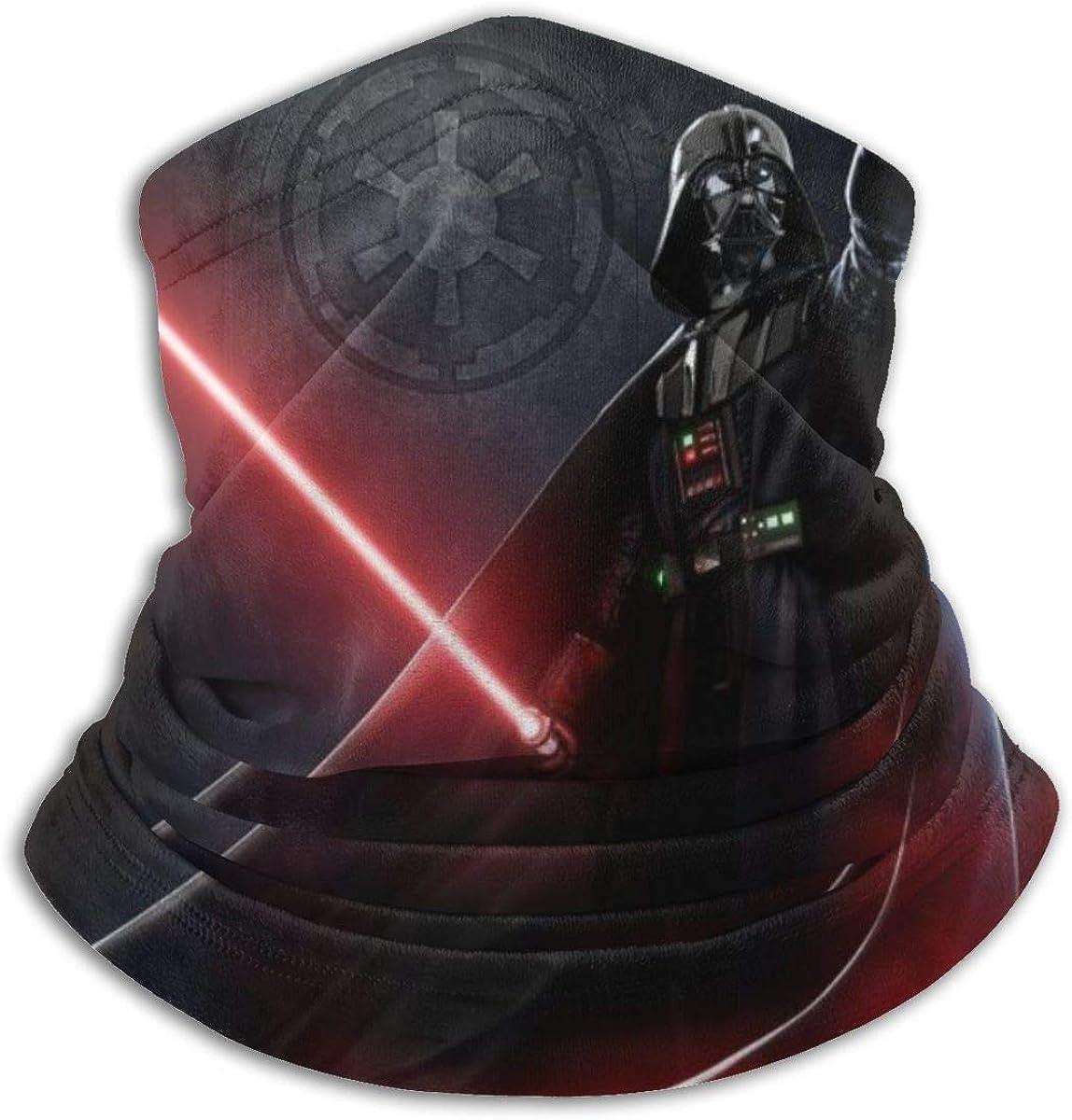 Star War Darth Vader Neck Warmer Scarf Unisex Soft Windproof Novelty Headband For Sports Hiking