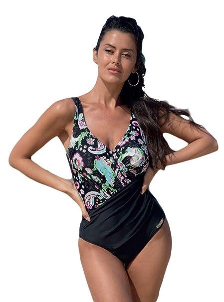 7b7bd8daeefd YSABEL MORA - BAÑADOR Reductor Mujer Color: Unico Talla: 46: Amazon ...