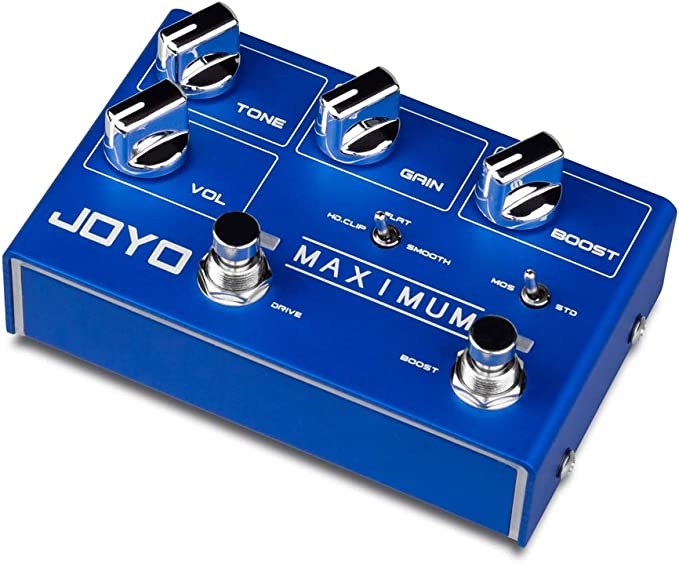 Joyo R-05 MAXIMUM Overdrive Boost Options New R Series Fast US Ship Nice!