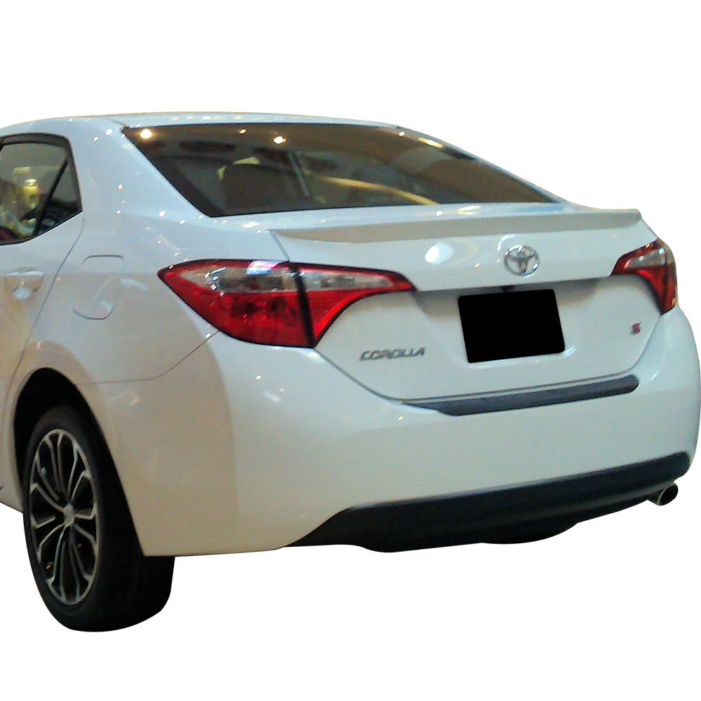 White Toyota Corolla >> Pre Painted Trunk Spoiler Fits 2014 2017 Toyota Corolla Painted 040 Super White Ii Oe Factory Style Rear Spoiler Wing By Ikon Motorsports 2015