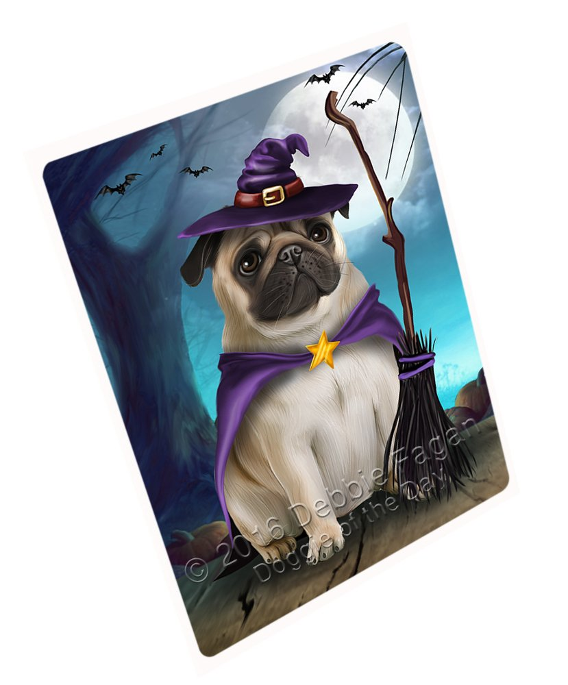 6eb8ee9b Amazon.com: Happy Halloween Trick or Treat Pug Dog Witch Art Portrait Print  Woven Throw Sherpa Plush Fleece Blanket (50x60 Fleece): Home & Kitchen
