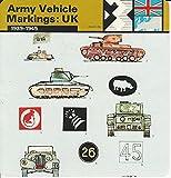 1977 Edito-Service, World War II, #53.07 Army Vehicle Markings: UK