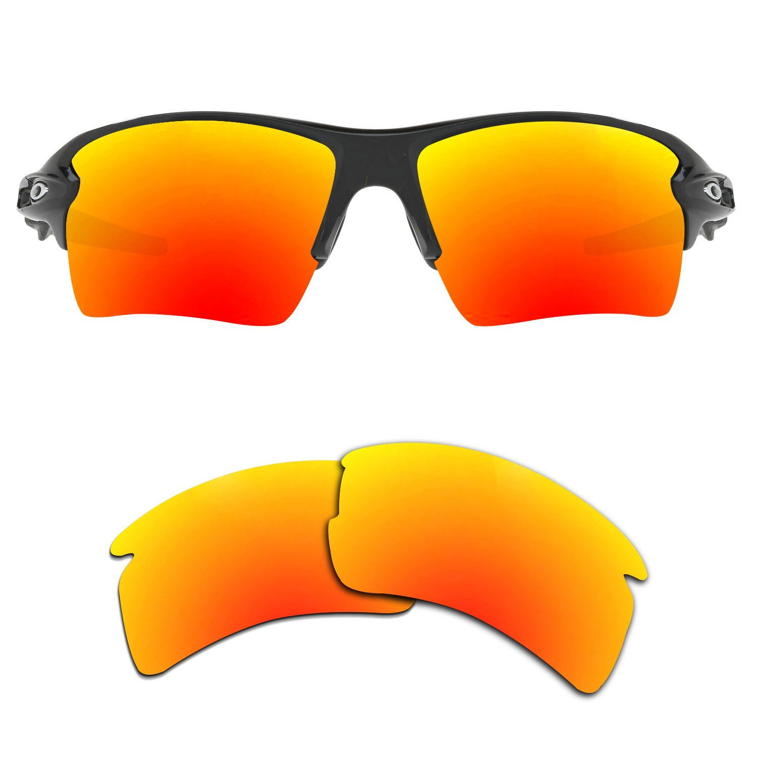 Kygear Replacement Lenses Different Colors for Oakley Flak 2.0 XL Sunglass Polarized by Kygear