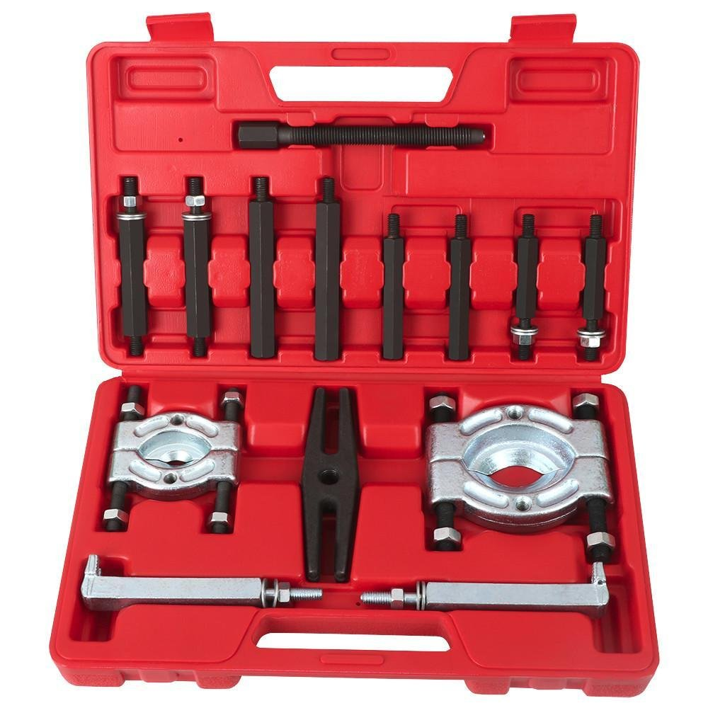 "Yaheetech 14PCS Bearing Separator Puller Set 2"" and 3"" Splitters Remove Bearings Kit"