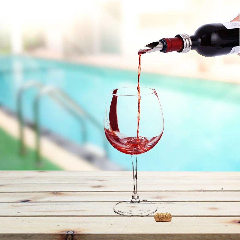 INKERSCOOP 6pcs Ouvre-bouteilles de vin Lapin tire-bouchon,Ouvre-bouteilles en vin dacier inoxydable Bottle Opener d/'Accessoires Outil d/'Ouvreur Id/éal Coffret Cadeau Tire-Bouchon