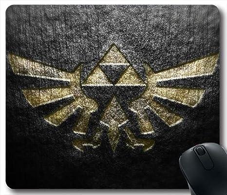 Zelda Triforce M69o7e Mouse Pad Tapis De Souris Amazon Fr High Tech