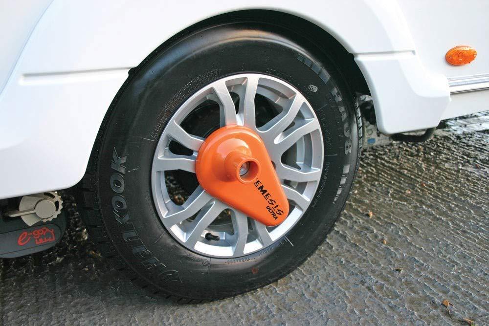 Blocca ruota ad alta sicurezza per caravan Purpleline Nemesis