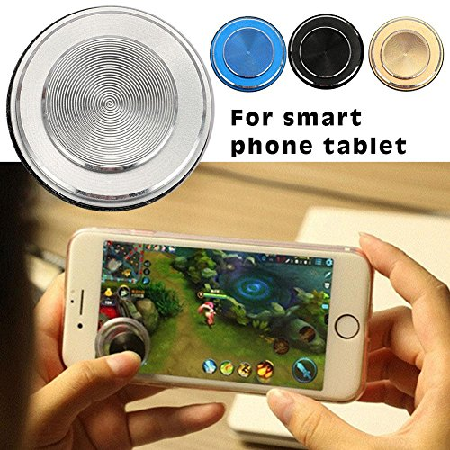 Hanbaili Fundas para iPhone 8 Plus, Crab Smartphone Carcasas para teléfonos móviles iPhone 6 Plus / 6s Plus / 7 Plus / 8 Plus, 5,5 pulgadas, Palanca de Kick plegable y soporte, Mecha Red 1pc Joystick Plata