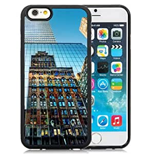 NEW Unique Custom Designed iPhone 6 4.7 Inch TPU Phone Case With New York City Buildings_Black Phone Case