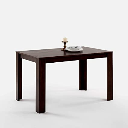 edgy furniture wooden farmhouse dining table espresso clean lines edgy low profile home ofiice furniture simple amazoncom