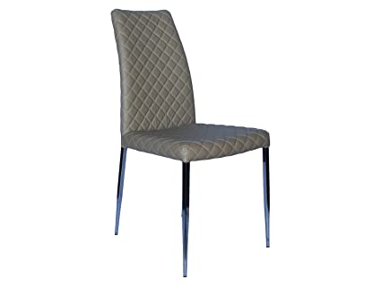 Amazing Casabianca Furniture Coco Collection Dining Chair Taupe Caraccident5 Cool Chair Designs And Ideas Caraccident5Info