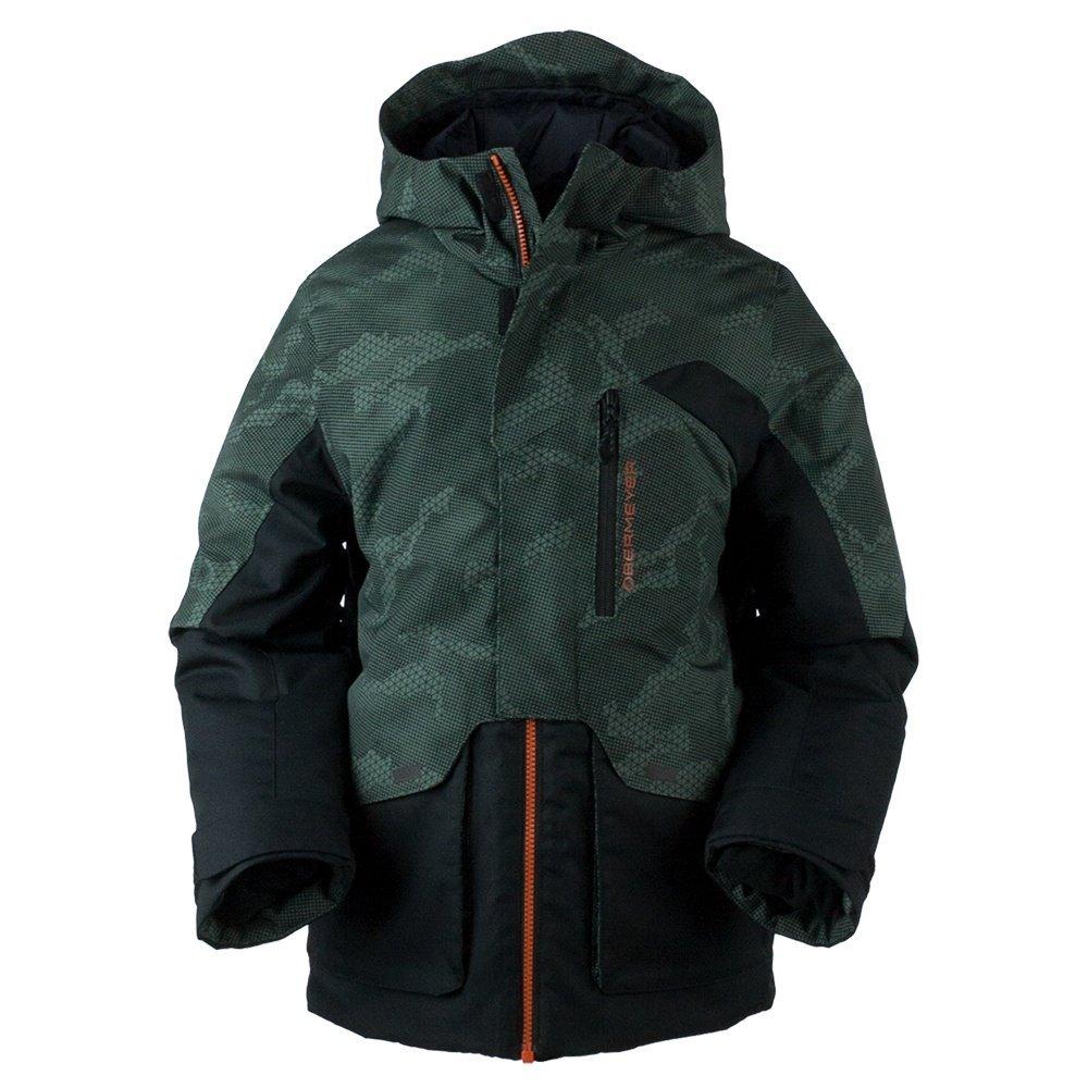 Obermeyer Kids Boy's Gage Jacket (Big Kids) Bit Camo X-Large