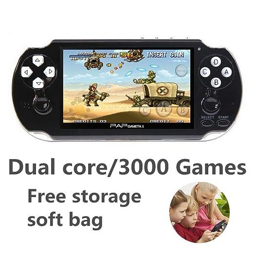 WFGZQ Consola De Juegos Portátil con 3000 CPS/NEOGEO/GBA/GBC ...