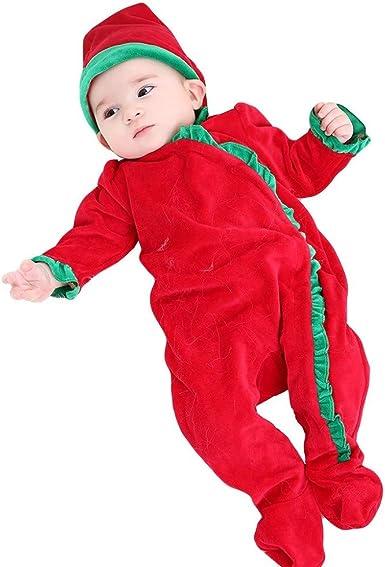 Pijama de una Pieza de Navidad para bebés Conjunto de 2 ...