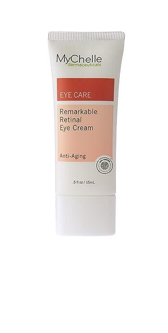 MyChelle Remarkable Retinal Serum with Concentrated Vitamin A and Orange Plant Stem Cells, 1 fl oz Dermisa Dark Circle Eye Treatment, 0.5 Fl Oz
