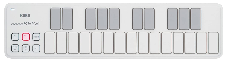 KORG nanoKONTROL2 Slim-Line USB Control Surface in White NANOKON2WH
