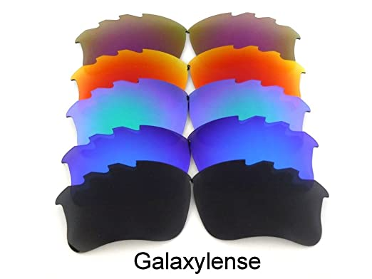 bd9b7bf5ccb5 Galaxy Replacement Lens For Oakley Flak Jacket xlj VENTED  Black/Blue/Green/Red