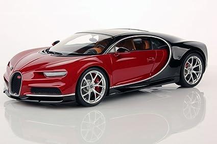 Amazon Com Bugatti Chiron Nocturne Italian Red Model Car In 1 18