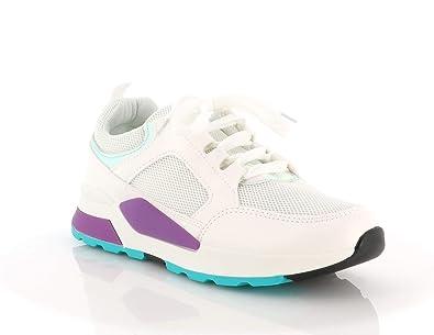 5c01f97970508 Basket Fitness Gym Mixte Femmes Hommes Talon 5 Cm - Chaussure De Sport  Running Course Tennis