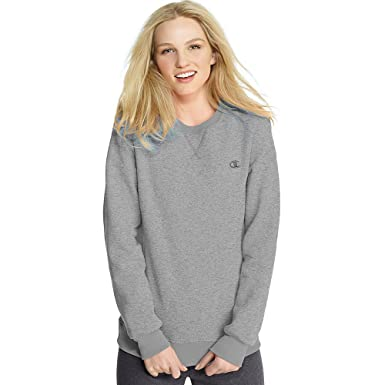 bfcd91408 Champion Eco Fleece Women's Crewneck,,Oxford Grey,,2XL,2PK: Amazon ...