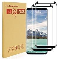 Nasharia [2-pièces] Galaxy S8 Plus Verre trempé