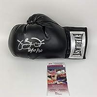$84 » Autographed/Signed James Buster Douglas Tyson KO 2-10-90 Black Everlast Boxing Glove JSA COA