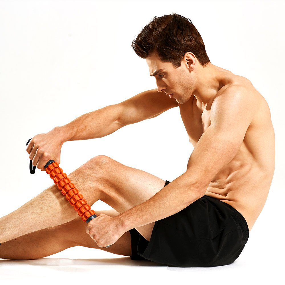 Kamileo Muscle Roller, Massage Roller for Relieving Muscle Soreness Cramping Tightness, Help Legs Back Joints Recovery (Workout Poster Included). by Kamileo (Image #5)