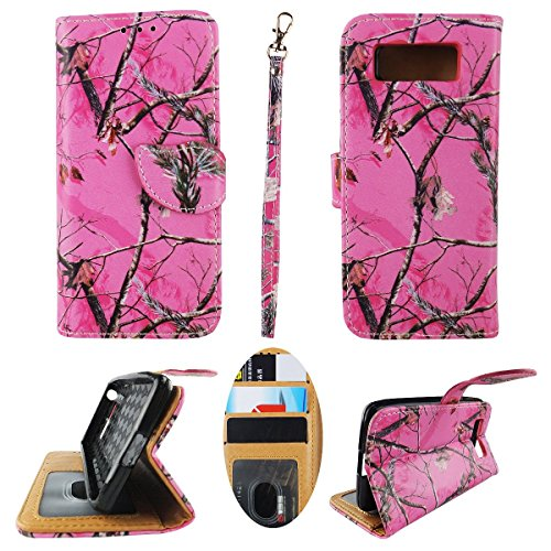 Wallet Case for Motorola Droid Mini XT1030 Designer Case Wallet Cell Phone Wallet Case Flip Pu Leather kickstand ID Card Slots Folio Cover Phone Pouch Case Camo Pk Moz