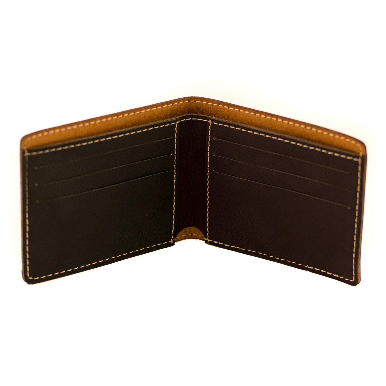 Amazon.com: Cartera personalizada para hombre bi-Fold, M ...