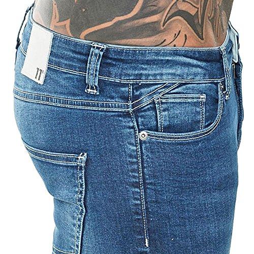 11 Femme Degrees Jeans Skinny Mid Blue Bleu Bleu zzqrH1