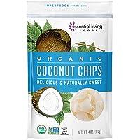 Essential Living Foods Coconut Chips Hojuelas de Coco, 113 g