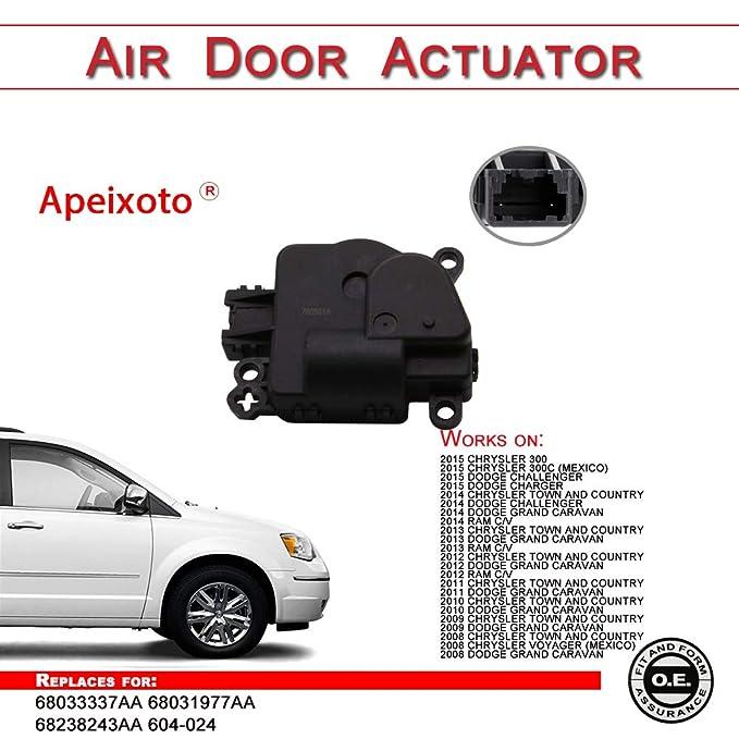 Automotive A-Premium HVAC Heater Blend Door Actuator for