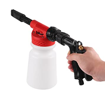 Car Washing Foamaster ONEVER Cannon Foam Lance Gun Multifunctional Portable  Water Soap Shampoo Sprayer 900ml For