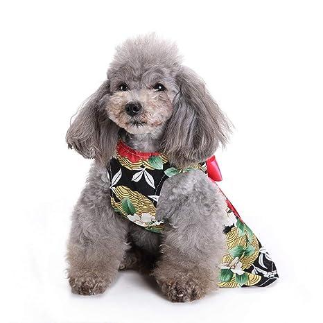 TUOTANG Falda de Moda para Mascotas Ropa para Mascotas Falda ...