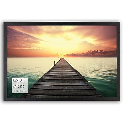 Amazon.com: Snap 12x18 Black Wood Wall Photo Frame: Home & Kitchen