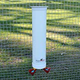 Royal Rooster Chicken Poultry Twin Waterer with Automatic Valve Operated Cup – 1 Gallon