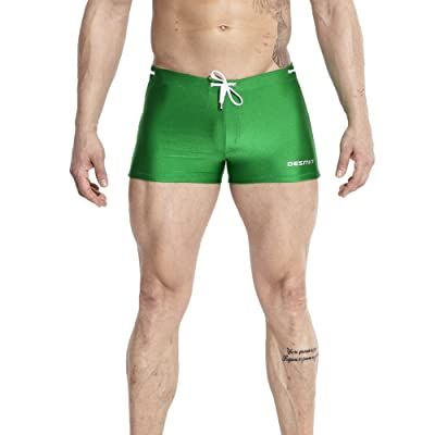 Funycell Mens Swim Trunks Swimwear Short Compression Swimsuit with Removable Pad
