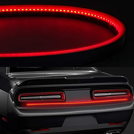 Led Third Brake Light Henlight Universal Led Brake Light Strip Bar Waterproof Ip67 Daytime Night Brake Running For Trailer Pickup Jeep Rv Van
