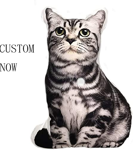 repin Personalized Photo Pillow Single-Sided Duplex DIY cat and Dog Shaped Pillow Birthday 28 X 28 70cmX70cm Duplex