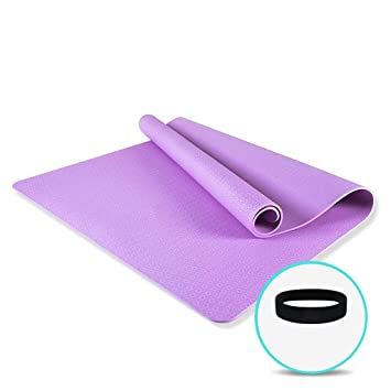 Doble estera de yoga engrosamiento estera de arrastre for ...