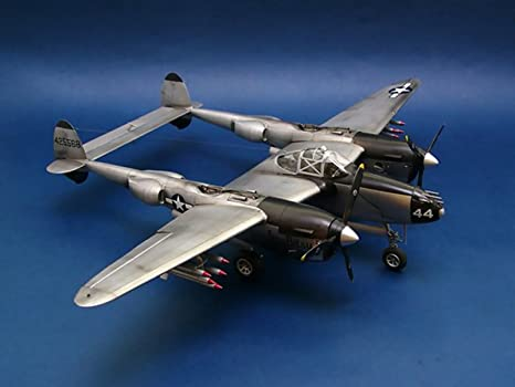 Amazon.com: Trumpeter 1/32 02227 Lockheed p-38l-5-lo ...