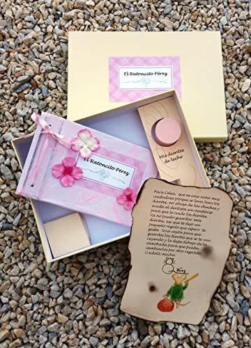 Libro Ratoncito Pérez, disponible en dos tonos de rosa