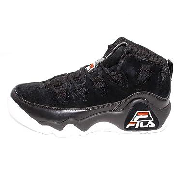Fila - Zapatillas de Sintético para Hombre Negro Negro: Amazon.es: Zapatos y complementos