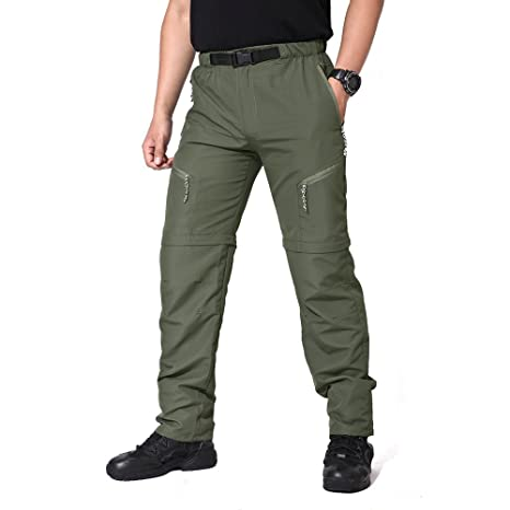 1111a7f84269 MAGCOMSEN Sports Pants Waterproof Clothes Outdoor Trousers with Adjustable  Buckle